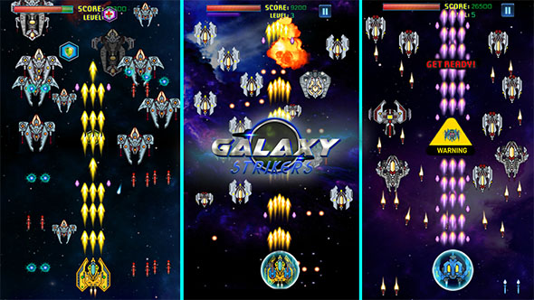 Galaxy Strikers   Space Shooter