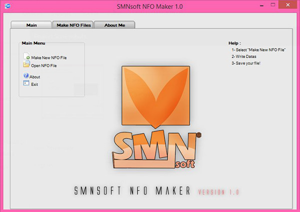 SMNsoft NFO Maker