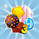 Sugar Match 3 - Sweet Candy Puzzle