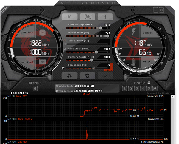 Download MSI Afterburner 4 5 0 12819 / 4 6 0 14649 Beta 14 Free