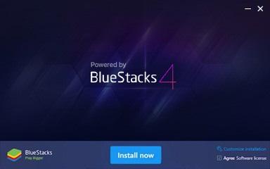 download bluesacks