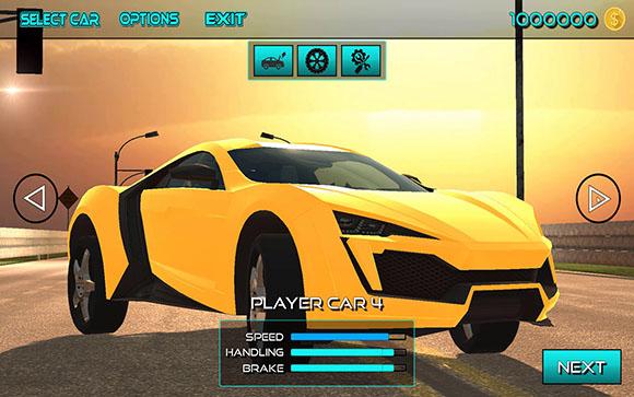 Highway Car Racing   3D Traffic Racing