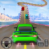 Crazy Car Driving Simulator: Impossible Sky Tracks