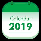 Holiday Calendar 2019