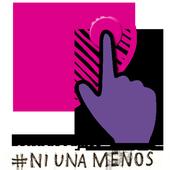 Botأ³n de Pأ،nico #NiUnaMenos