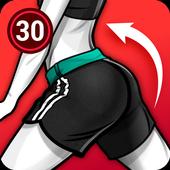 Buttocks Workout - Hips, Booty, Butt Workout