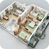 3D House Plan Ideas