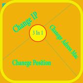 change ip address Mac Position