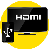 HDMI Connector (mhl/hdmi/usb ScreenMirroring)