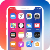 Phone X Launcher, Lockscreen and Control Center OS12