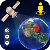 Live Earth Map and Satellite View, GPS Tracking