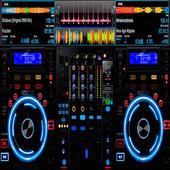 Virtual Music mixer DJ