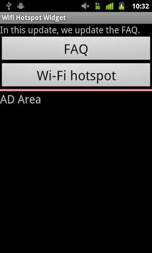 WiFi HotSpot - WiFi Tether