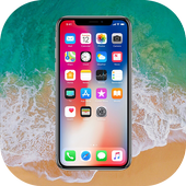 Phone X Launcher and Phone 8 Launcher and Lock Screen