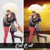 Cut Out : Background Eraser and background changer