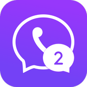 Multichat - 2 accounts for 2 whatsapp and App clone