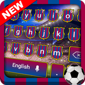 Barcelona Football Keyboard