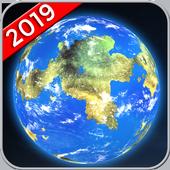Earth Map Live GPS: Street View Navigation Transit
