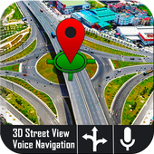 Voice GPS Navigator: Live Traffic and Transit Maps