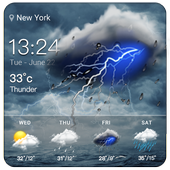 Live weather and widget for android