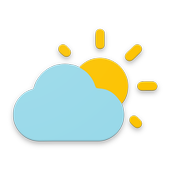 Simple weather and clock widget (No ads)
