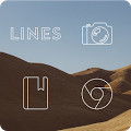 Lines Free - Icon Pack