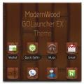 GO Launcher EX - ModernWood