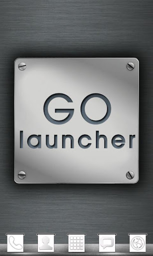Metal Theme GO Launcher EX
