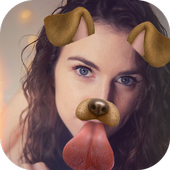 Filters for changing cat face and dog face