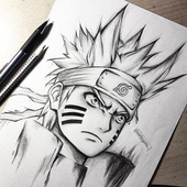 Tutorial Drawing Anime Naruto