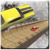 Grand Mega Ramp Stunt: Auto Muscle Car Driver 2018