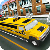 Urban Hummer Limo taxi simulator