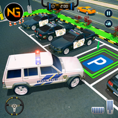 Police Car Parking: Free 3D Driving Games