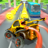 Car Run Racing ًںڑ— Super Car Traffic Dodge