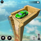 Mega Ramp Car Racing Impossible Stunts