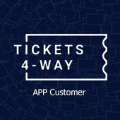Tickets 4-Way - Customer
