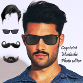 Men Mustache Beard Haircuts