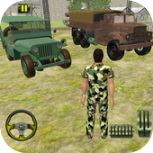 US Army Offroad Truck Driver 3D