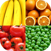 Fruit and Vegetables, Nuts and Berries: PictureQuiz