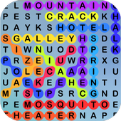 Word Search, A Seek and Find Crossword Puzzle Game