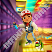 Subway Surf Train Run Up