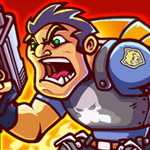 Metal Mercenary  2D Platform Action Shooter