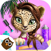 Jungle Animal Hair Salon 2  Tropical Pet Makeover
