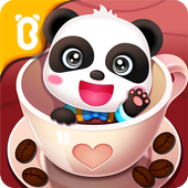 Baby Pandas Caf Be a Host of Coffee Shop and Cook