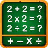 Math Games, Learn Add, Subtract, Multiply and Divide