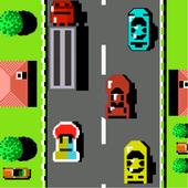 Road Racing  Car Fighter  Classic NES Car Racing