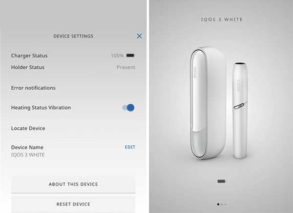 IQOS bluetooth pairing