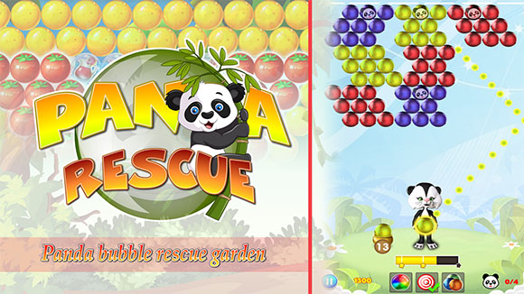 Panda Rescue Bubble Shooter | Panda Pop!