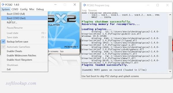 PCSX2 - ps2 emulator
