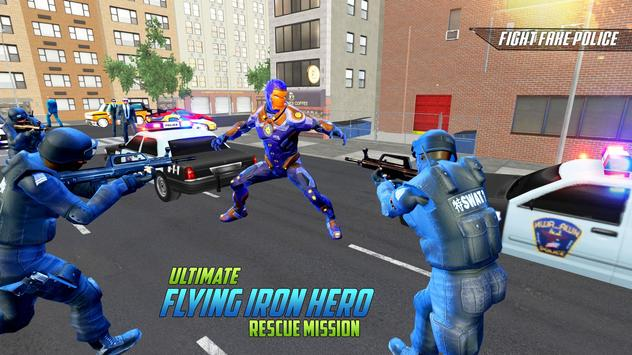 Ultimate KungFu Superhero Iron Fighting Free Game ScreenShot1